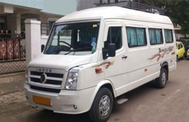 17 Seater Tempo Traveller Rental
