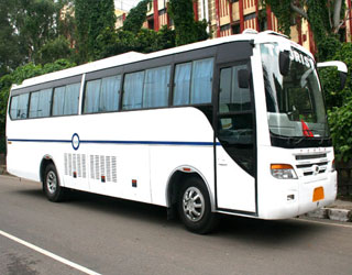 27 Seater Coach Rental in Hamirpur