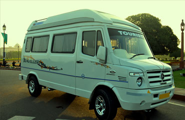 9 Seater Tempo Traveller Rental