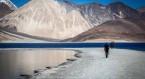 Leh - Pangong Lake - Leh - 290 Kms